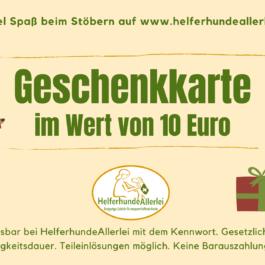 """10 Euro Gutschein: """"Schöne Aufmerksamkeit"""""""