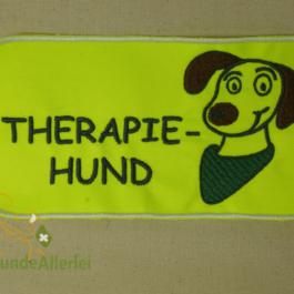Therapiehund Aufnäher