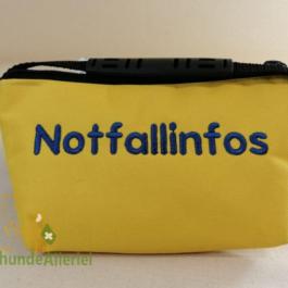 Gelbe Notfalltasche