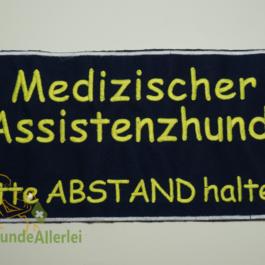 Mediz. Assistenzhund