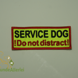 Service Dog not distract