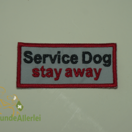 Service Dog stay away