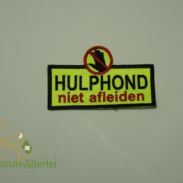Niederlande: Hulphond niet afleiden