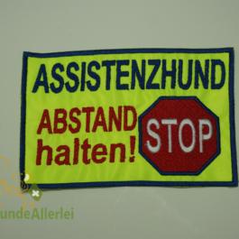 ASSISTENZHUND Stopsymbol
