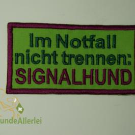 SIGNALHUND-..nicht trennen