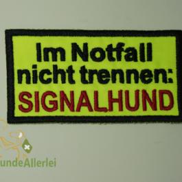 SIGNALHUND-Im Notfall…