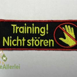 Training! Nicht stören (+Symbol)